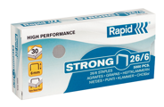 Agrafes Nº 26/6 Strong 5000un Rapid