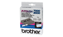 Fitas Brother Laminadas Branco/Azul 12 mm x 15 m