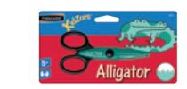Tesoura Escolar 13.5cm Alligator Kids Zors