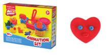 Kit de massa de modelar Animation Set  3 Cores x 35 g