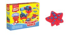 Kit de massa de modelar  Imaginary World - 2 Cores x 35 g