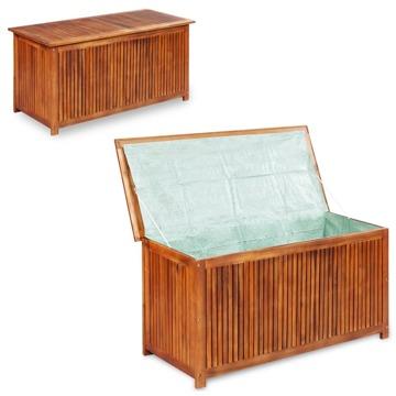 Caixa de arrumação para jardim 180x90x75 cm vime PE cinzento