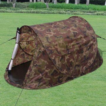 Tenda Camuflagem Pop-up Para 2 Pessoas
