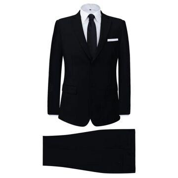 Fato Homem De 2 Un. Com Gravata Tamanho 48 Branco na Loja