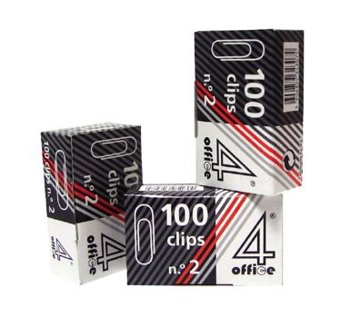 Clips Nº 10 100 Unidades 4Office