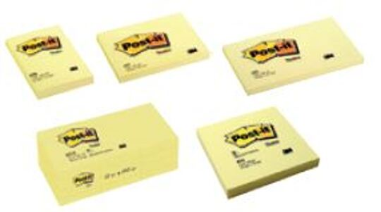Bloco de Notas Aderentes 76x76mm Post-It 654