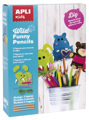 Kit DIY Wild Funny Pencils Feltro 3U