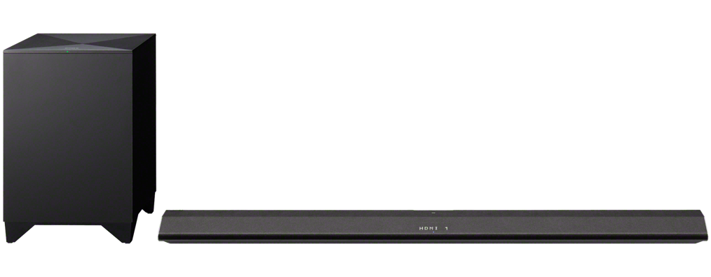 Home Cinema Sony HT-CT770 Barra de Som 2.1 Wireless 3D 4K UHD