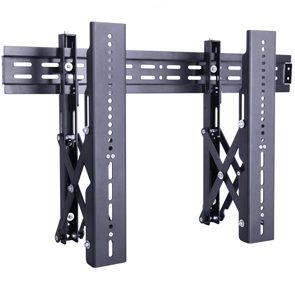 "Suporte Video Wall 37 - 70"" M PUBLIC VIDEOWALL PUSH Preto Multibrackets"
