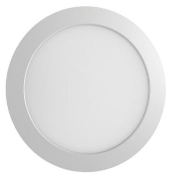 Paineis Projectores de Tecto Falso LED IP44 160mm 12W Quente Regulável