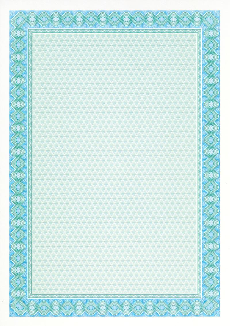 Papel certificados e diplomas azul turquesa 115 gr 10 for Papel pintado azul turquesa