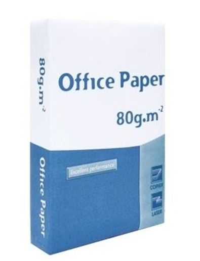 Resma Papel 80grs A4 500fls OFFICE PAPER
