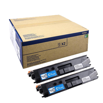 Toner Brother Azul Capacidade Extra Pack 2un TN329CTWIN