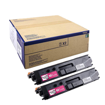 Toner Brother Magenta Capacidade Extra Pack 2un TN329MTWIN