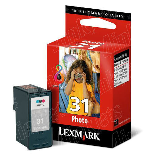Tinteiro Lexmark Photo 18C0031 (31)