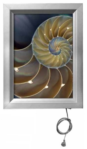 Painel Informativo SNAP Light A2 675 x 501mm