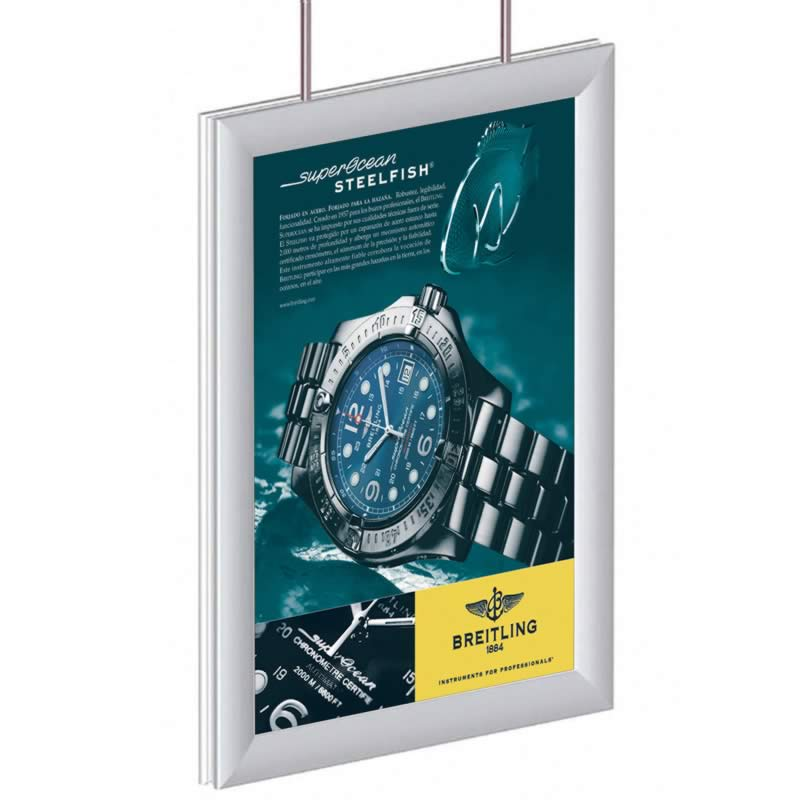 Painel Informativo SNAP Light Duplo F2 1097 x 843mm