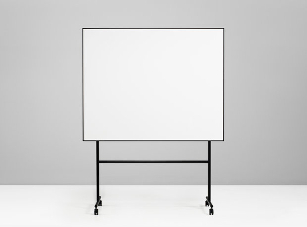 Quadro Magnetico Preto 200,7x196x50cm ONE Mobile Whiteboard
