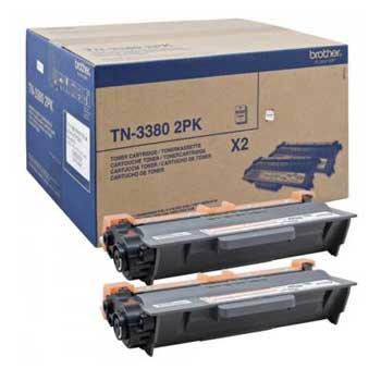 Toner Brother Pack 2un TN3380TWIN