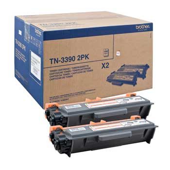 Toner Brother Pack 2un TN3390TWIN