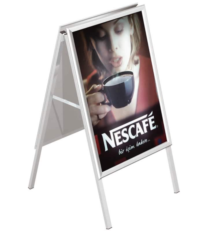 Suportes Expositor P/ Poster Stopper A-Board 1150x550mm