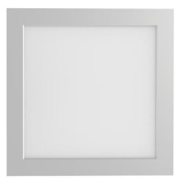 Paineis Projectores de Tecto Falso LED IP44 225x225mm 20W Quente Regulável