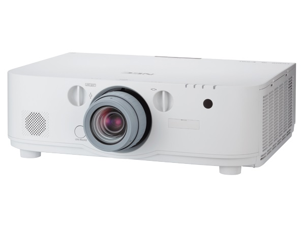 Videoprojectores NEC PA671W - WXGA / 6700lm / LCD Full 3D / Wi-fi via Dongle / Suporta 4K