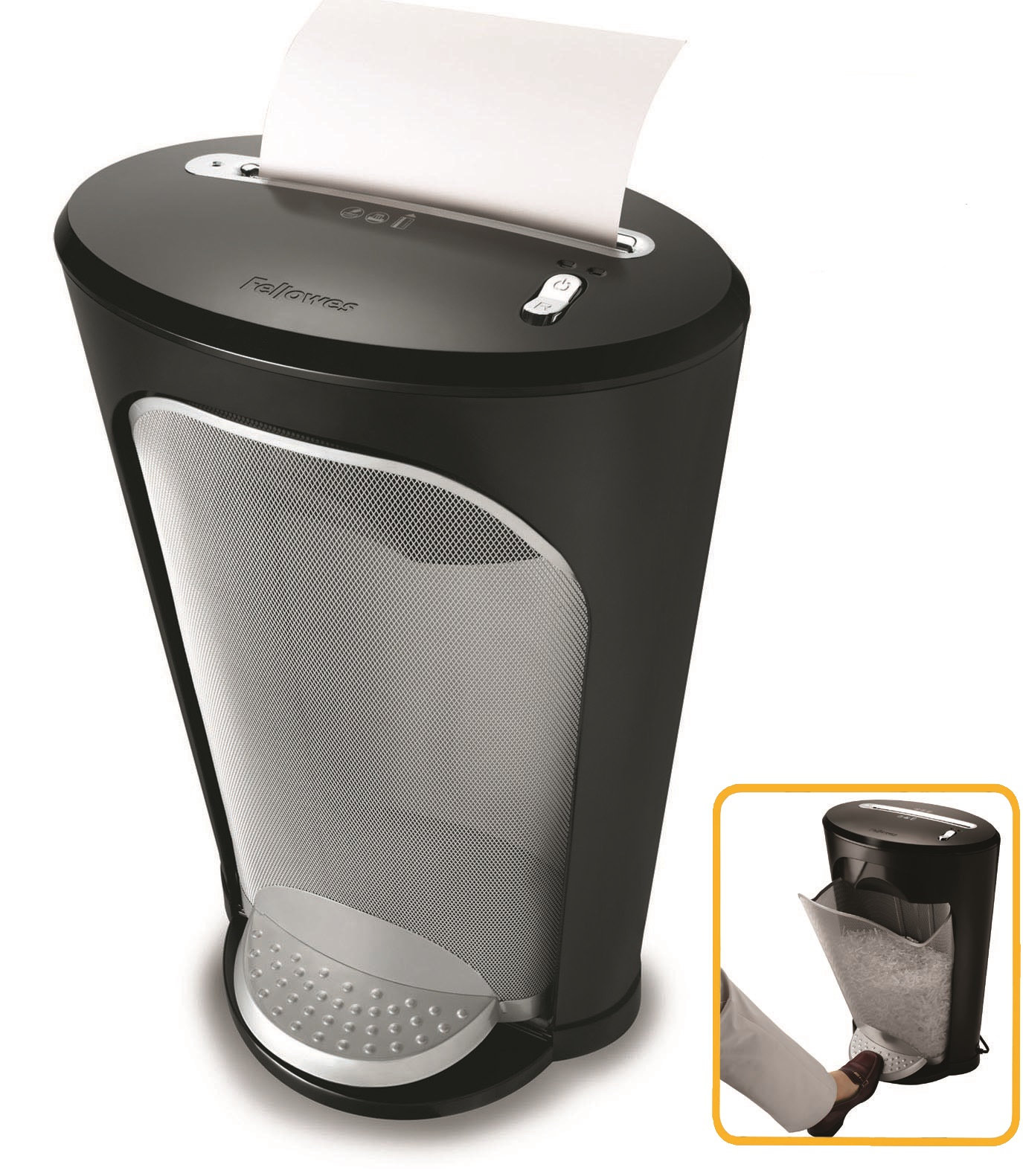 Destruidora de Papel Fellowes DS-1, 11Fls, 18L