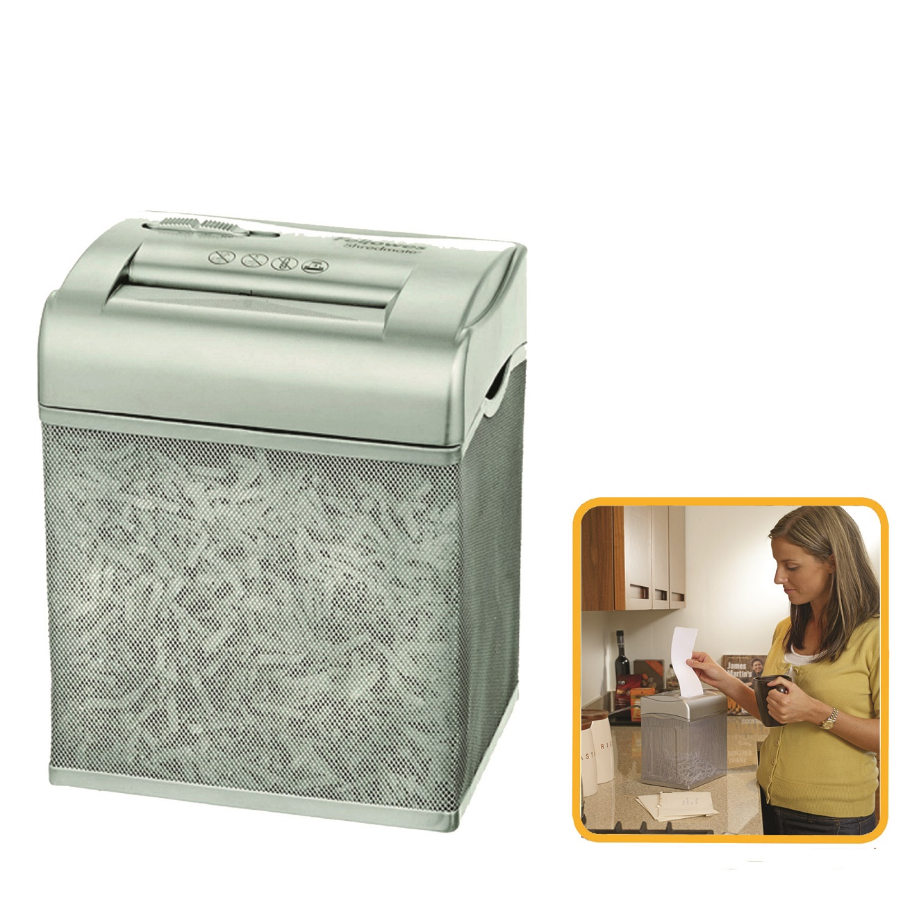 Destruidora de Papel Fellowes Shredmate, 4fls, 4,5L