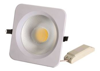 Projectores de Tecto Falso LED 116x116mm, 640lm, 4100K, 10W, 120º
