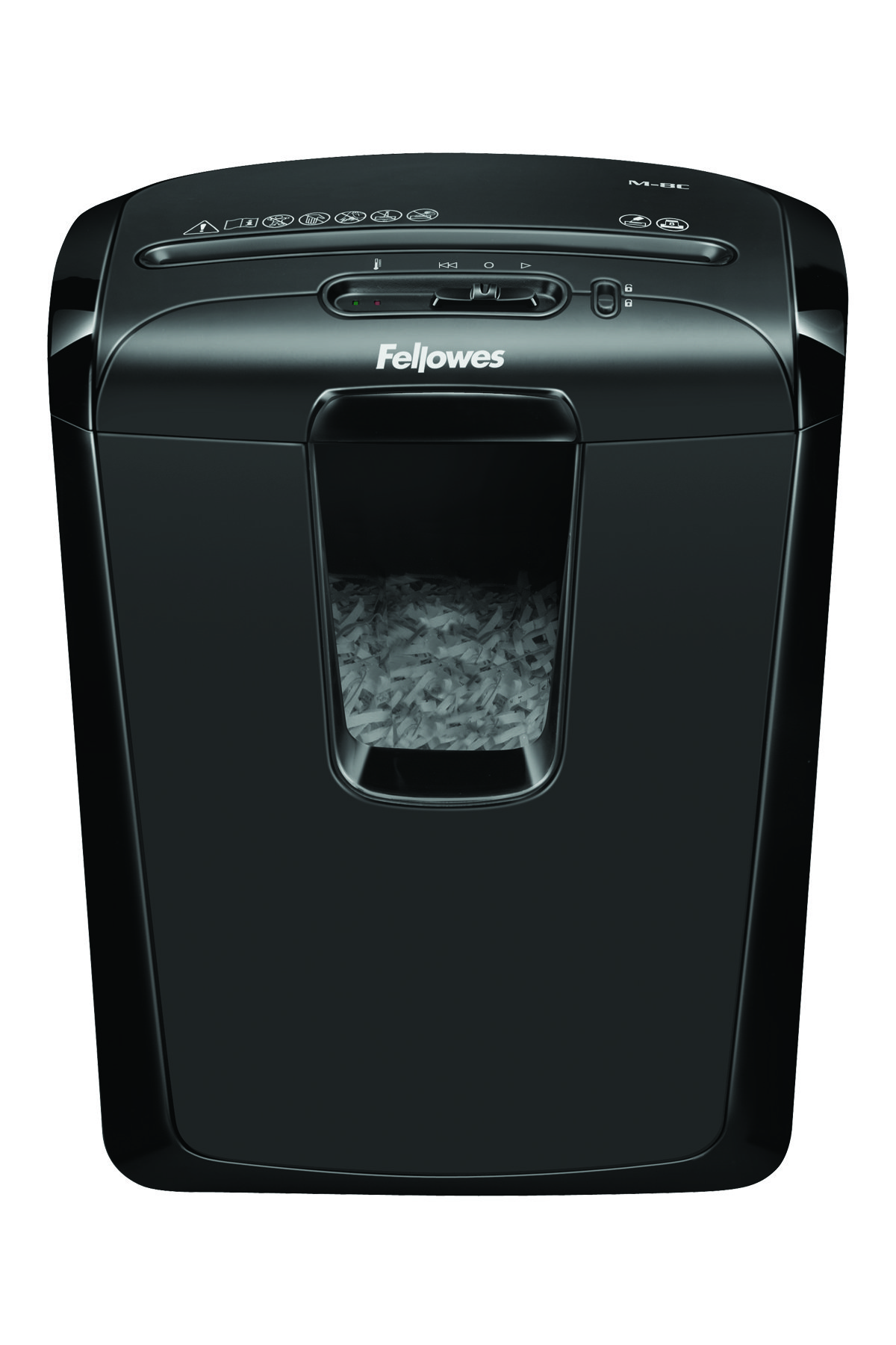 Destruidora de Papel Fellowes M-8C, 8fls, 15L