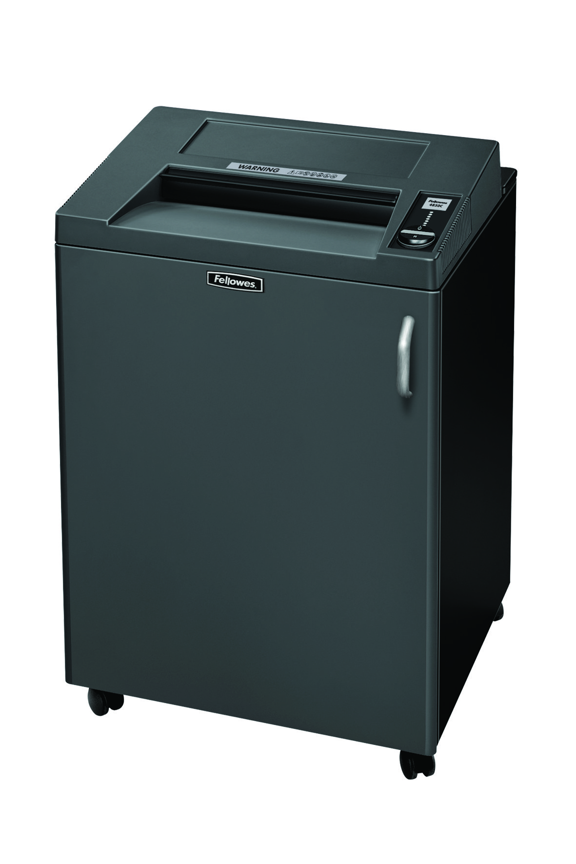 Destruidora de Papel Fellowes 4850C, 30fls, 165L, CD/DVDs com Rodas