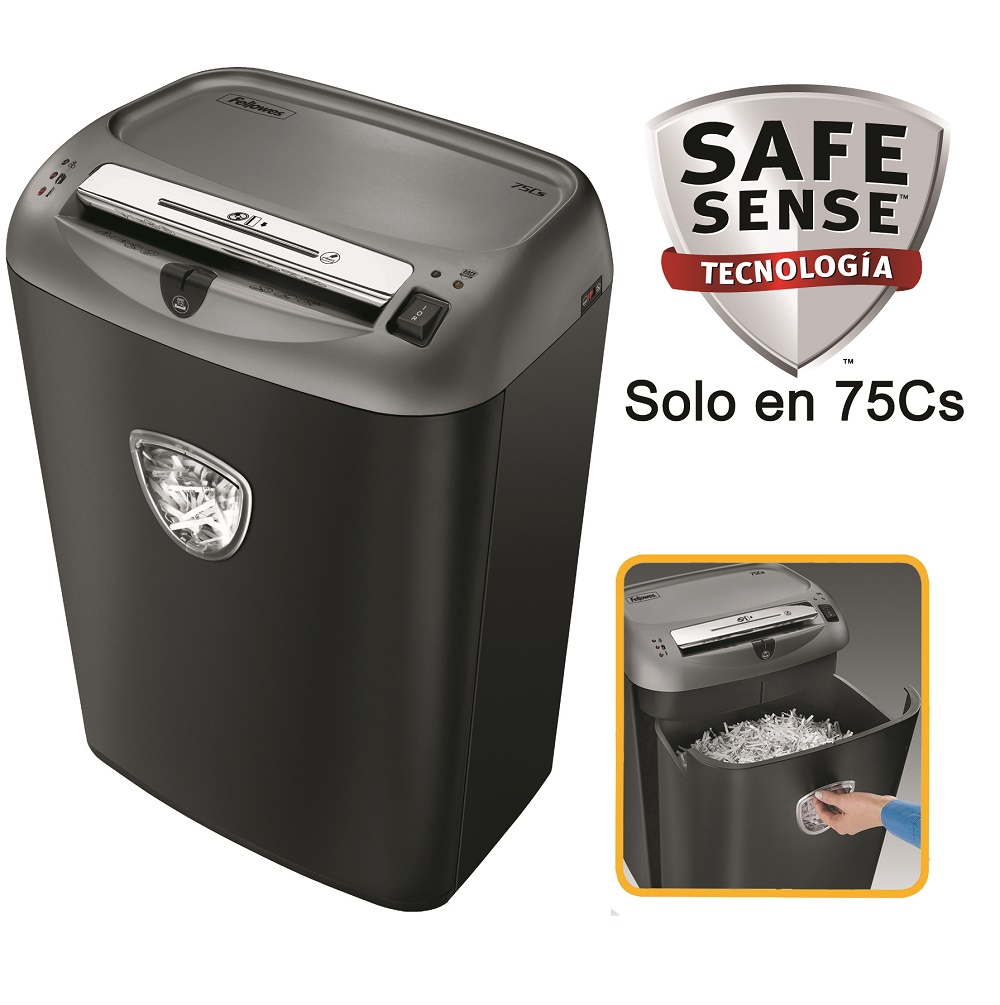 Destruidora de Papel Fellowes 70S, 14fls, 27L, CD/DVDs