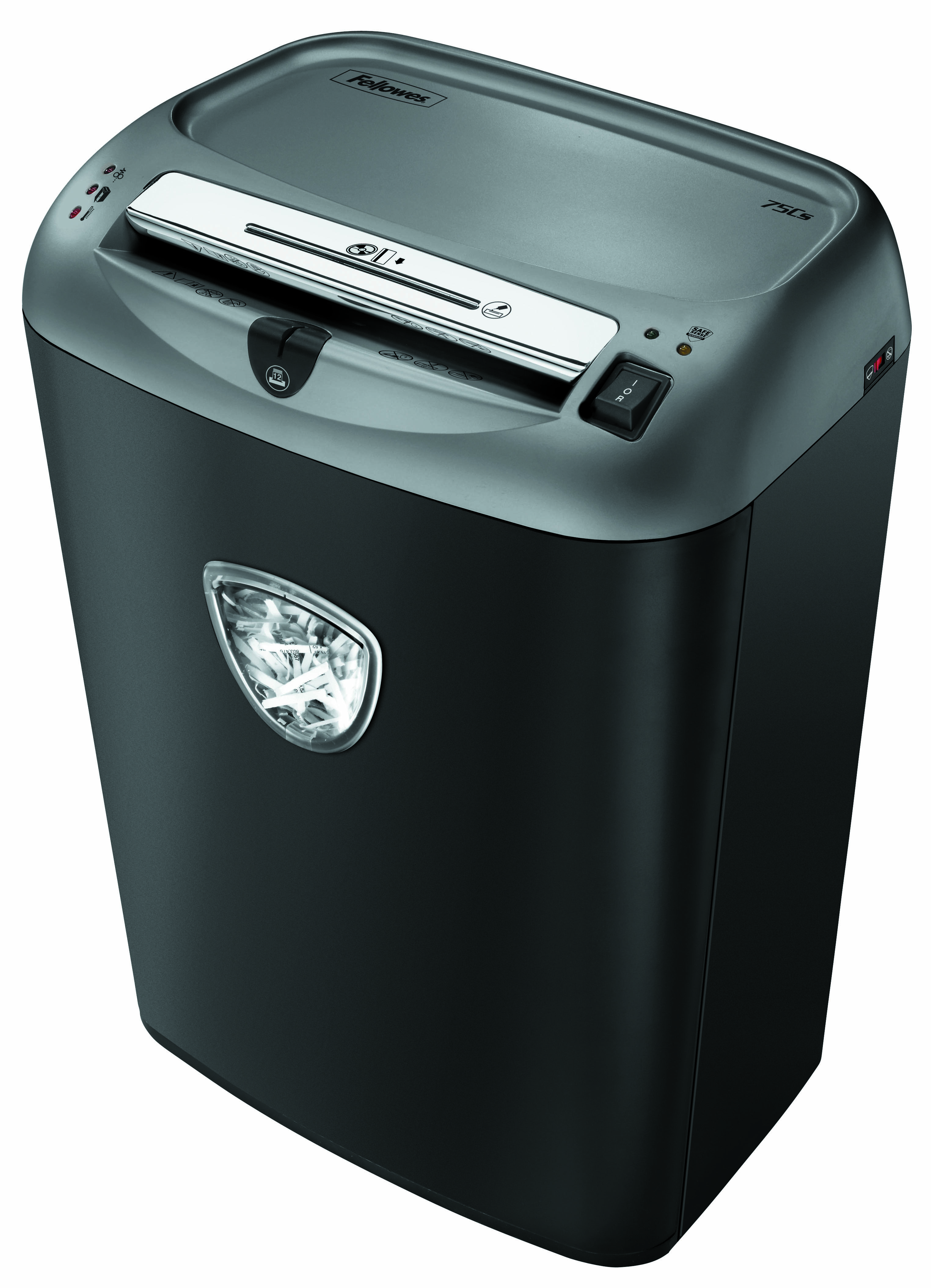 Destruidora de Papel Fellowes 75Cs, 12 Fls, 27L, CD/DVDs