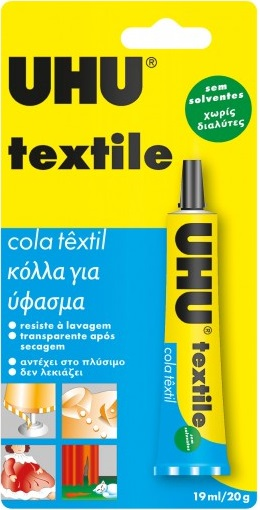 Tubo Cola 19ml UHU Textile