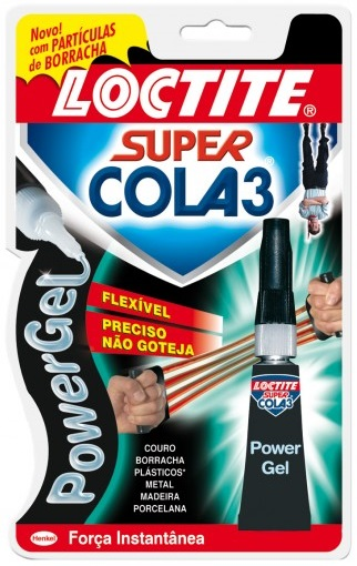 Super Cola 3g Loctite Super Cola 3 Power Gel Flex