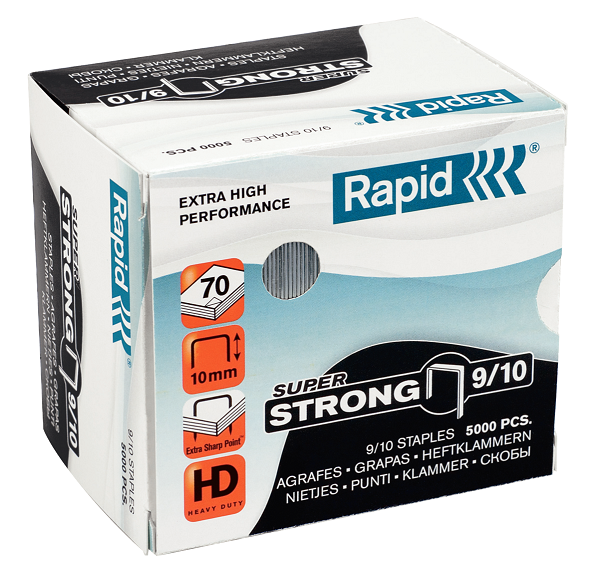 Agrafes Nº 9/10 Strong 5000un Rapid