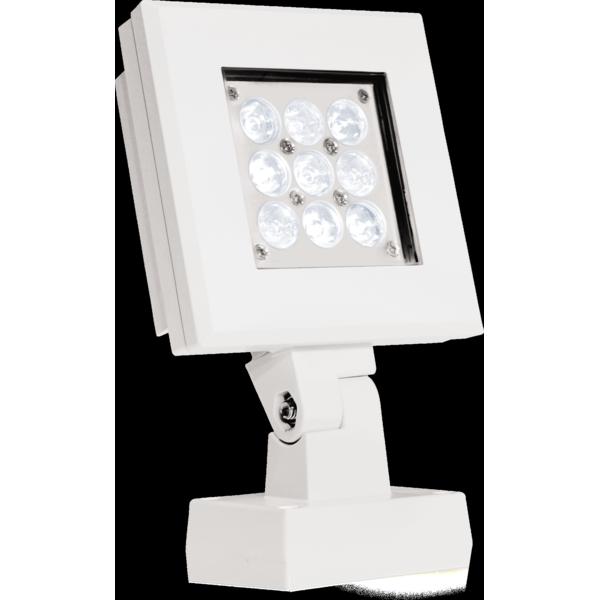 Projector de luz led para exterior accent arcqube9a for Luz de led para exterior