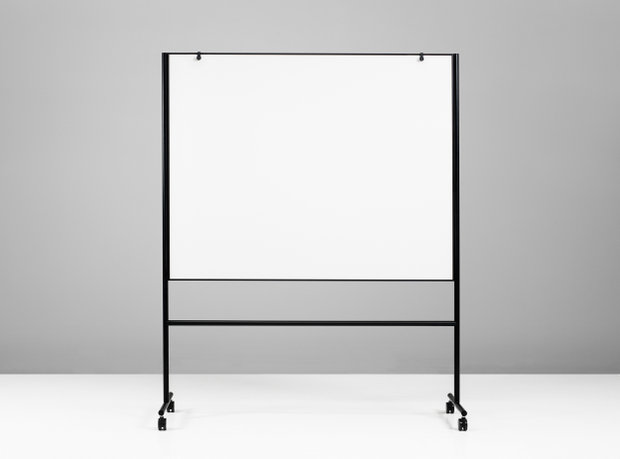 Quadro Magnetico Preto 206,7x196x50cm  ONE Double Sided Whiteboard
