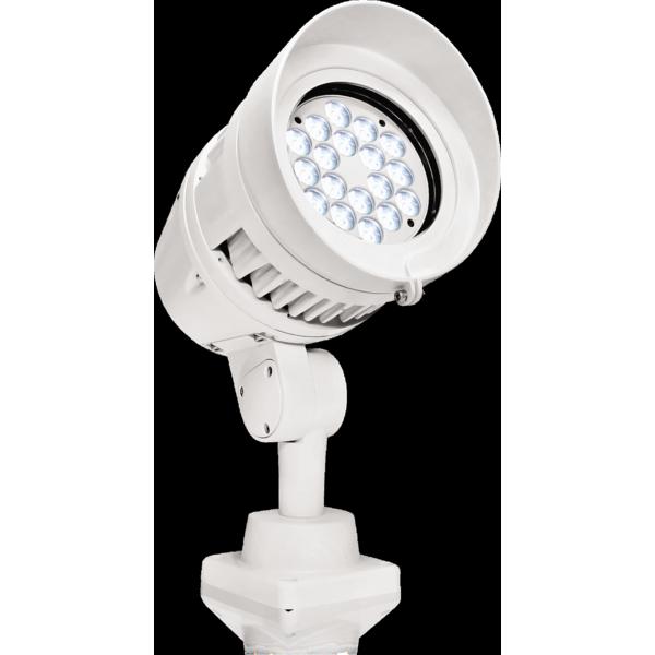 Projector de luz led para exterior arcsun18ww ricardo vaz - Luz led exterior ...