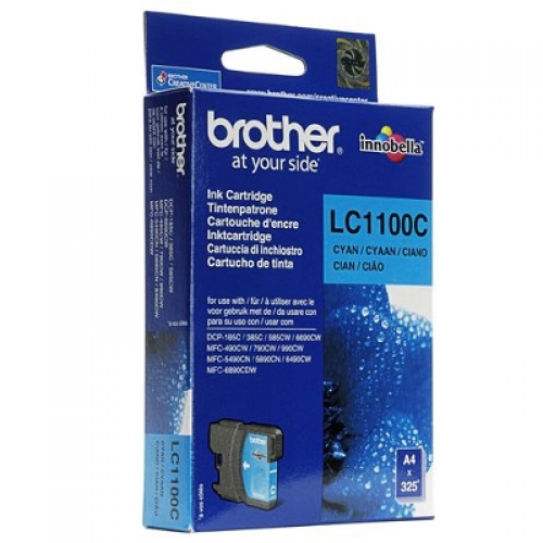 Tinteiro Brother Azul LC1100C