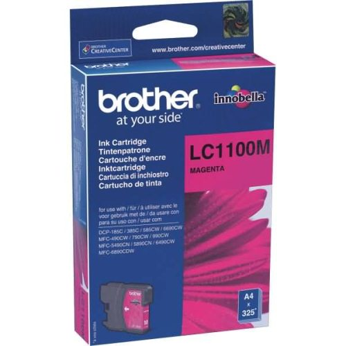 Tinteiro Brother Magenta LC1100M