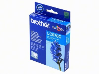 Tinteiro Brother Azul LC970C