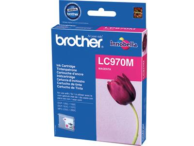 Tinteiro Brother Magenta LC970M