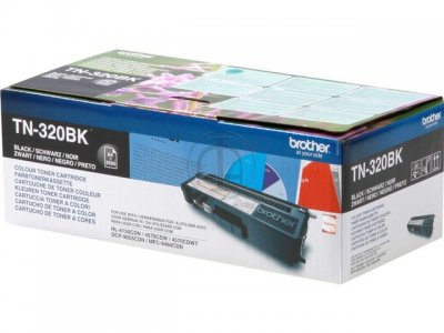 Toner Brother Preto TN320BK
