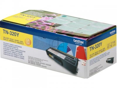 Toner Brother Amarelo TN320Y