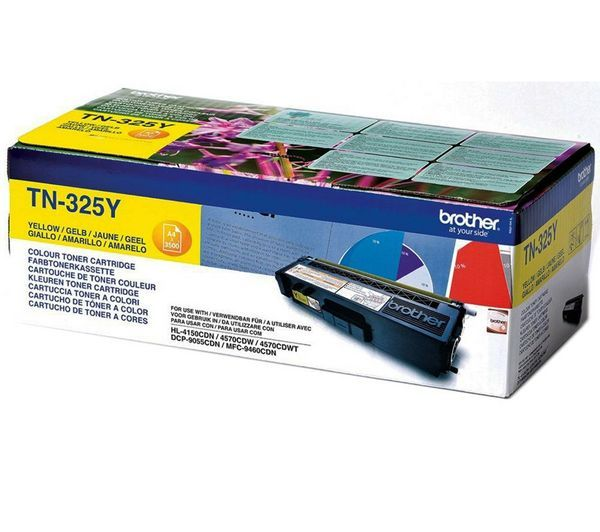 Toner Brother Amarelo TN325Y