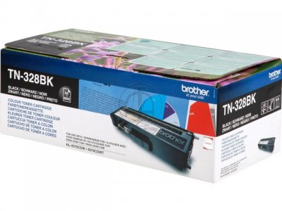 Toner Brother Preto TN328BK