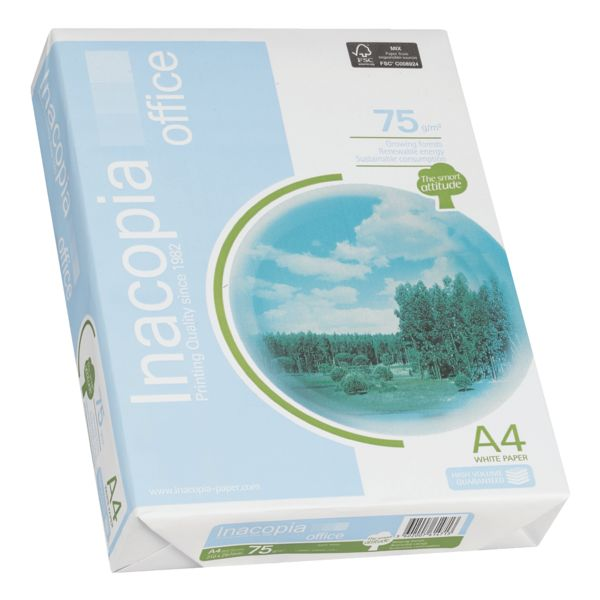 Papel Reciclado Office A4 75 Grs