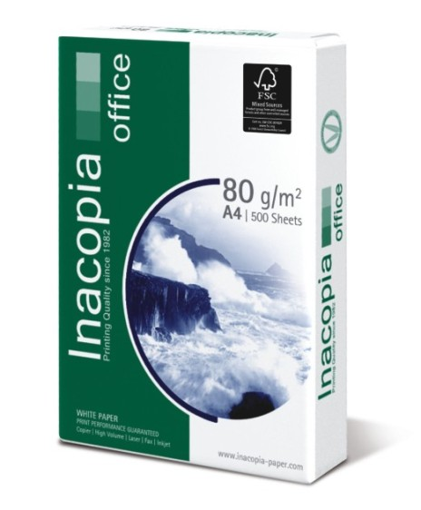 Papel A4 80 Gr Inacopia Office